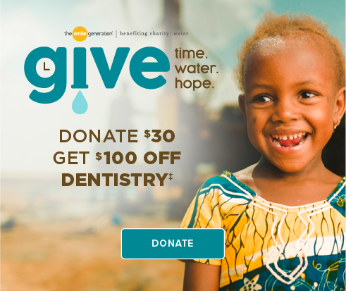 Donate $30, Get $100 Off Dentistry - Stone Oak Modern Dentistry and Orthodontics